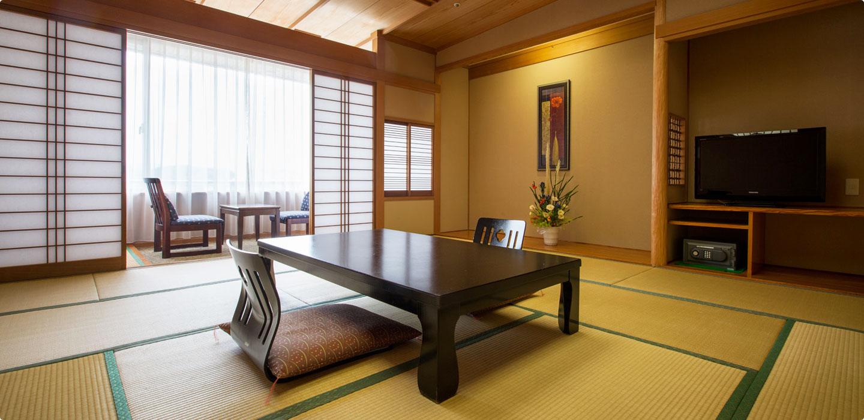 ゆったりと贅沢な広さ 和室